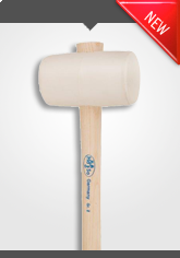 New Rubber Hammer white, non-staining