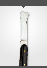 Budding and Grafting Knife with plastic handle Length: 10.5 cm