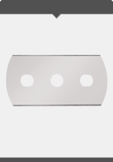 Bandle Knives - Article No. 2000/A Spare Blade 0.3 mm, 3-hole, Article No. 2003/A Spare Blade 0.3 mm, 3-hole