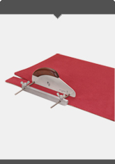 Bandle Knives -  Strip Cutter for Carpet Wall Bases and Design Flooring  complete with 10 pcs. Spare Blades 2003